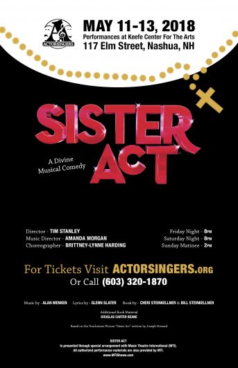 Sister Act Poster 11x17